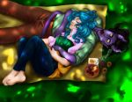 Lunch Time Nap by LadyValiant