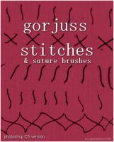 Stitches - Suture Brushes PSCS by gorjuss-stock