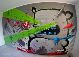 LASER KIWIE by KIWIE-FAT-MONSTER