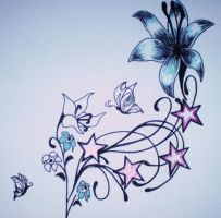 Female Tattoo Design by TjD26