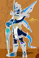 Ice swordsman | Digimon G2 by G3Drakoheart-Arts