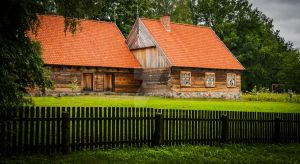 Open-air museum of folk architecture in Olsztynek by klossone