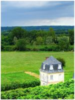 View from Chateau Usse by simoner