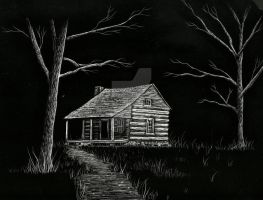 The Cabin by JaimeLynCreations