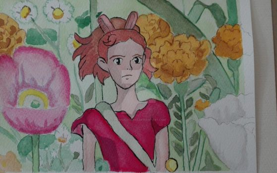Arrietty by Penholderart
