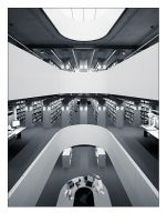 Norman Foster library by ErShavi
