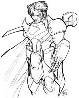 Ronin Warriors: Cale by AdamWithers