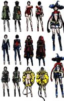 Ada RE6 Extra Costumes 2 by Sparrow-Leon
