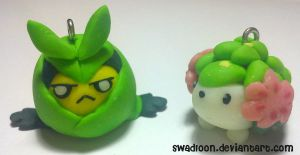 CM: Swadloon and Shaymin Charm by Swadloon