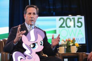 I'd Go For Santorum, Too by RicRobinCagnaan