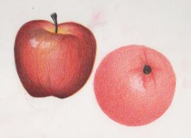 literally comparing apples to oranges by Nephthys76