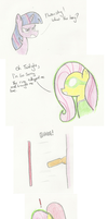 Ask Green Lantern Fluttershy 6 by The-rogue-shadow