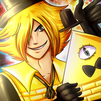 Bill Cipher by Rumay-Chian
