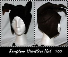 Kingdom Heartless Hat by The-Mad-Prophet-
