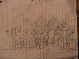 Choco's Request (mane six): Drawn Out by nyan-cat-luver2000