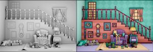 Doll House - 3d x 2d by Ventapane