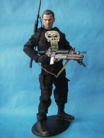 Custom Hot Toys Scale Punisher by cusT0M