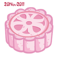 Snowy mooncake by RiverKpocc