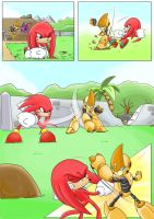 Knuckles: Skeletons in the Closet (Part 2: Page 2) by shamethedawg