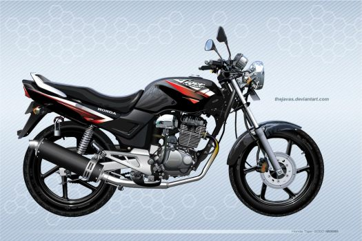 My First Vectored Motorbike by thejavas