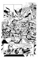 Avengers by Sandoval, inks by Curiel by lobocomics