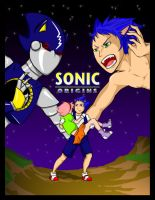 Sonic Origins Issue 1 Title by LORD-BIG-DOGGIE