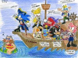 Sonic Pirates For Kon-Kon by VanillaREM