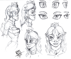 Sketches for New Tulip by athorment