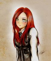 Amy Pond (Doctor Who) by Eilyn-Chan