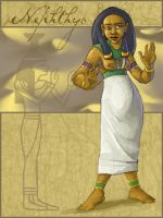 Nephthys by shoomlah