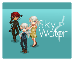 Sky and Water :: Trio by saphiremomo