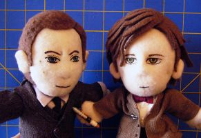 Mycroft Holmes and the 11th Doctor by alice-day