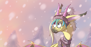 Winter Evening by IcelectricSpyro