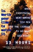 13 Hours is worth your time to Watch It by kouliousis