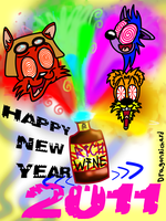 Happy New Year 2011 by DragonRichard