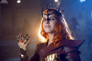 Sauron cosplay by Pvt-Waffles