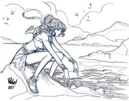 FRIDAY BY THE SEA by Wieringo