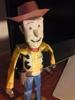 papercraft woody by nochena