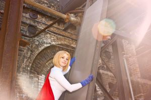 Power Girl Cosplay by Nendotan