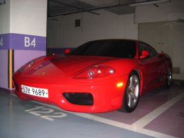 Ferrari 360 Modena at Parking by toyonda