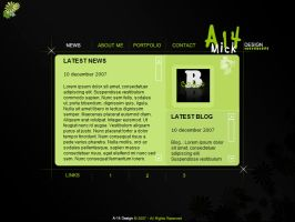 A-14 Portfolio News by A-14 by webgraphix