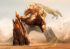 Earth Colossus by ZsoltKosa
