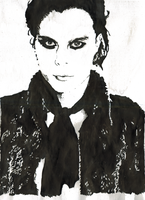 Ville in black by Horsissa