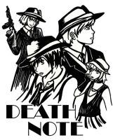 Death Note Noir by Kasandra-Callalily