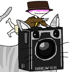 Mr. Turnip Rides a Magical Camera Cat by CallMeBetty