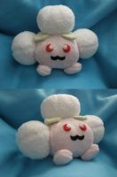 Shiny Jumpluff Plush by Glacideas