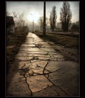 old pavement by Bobbyus