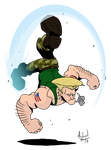 SSF2T Guile by MichaelMayne