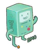 what time is it: BMO time by QueenRebecca