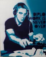 diplo work is never over by unbornagain